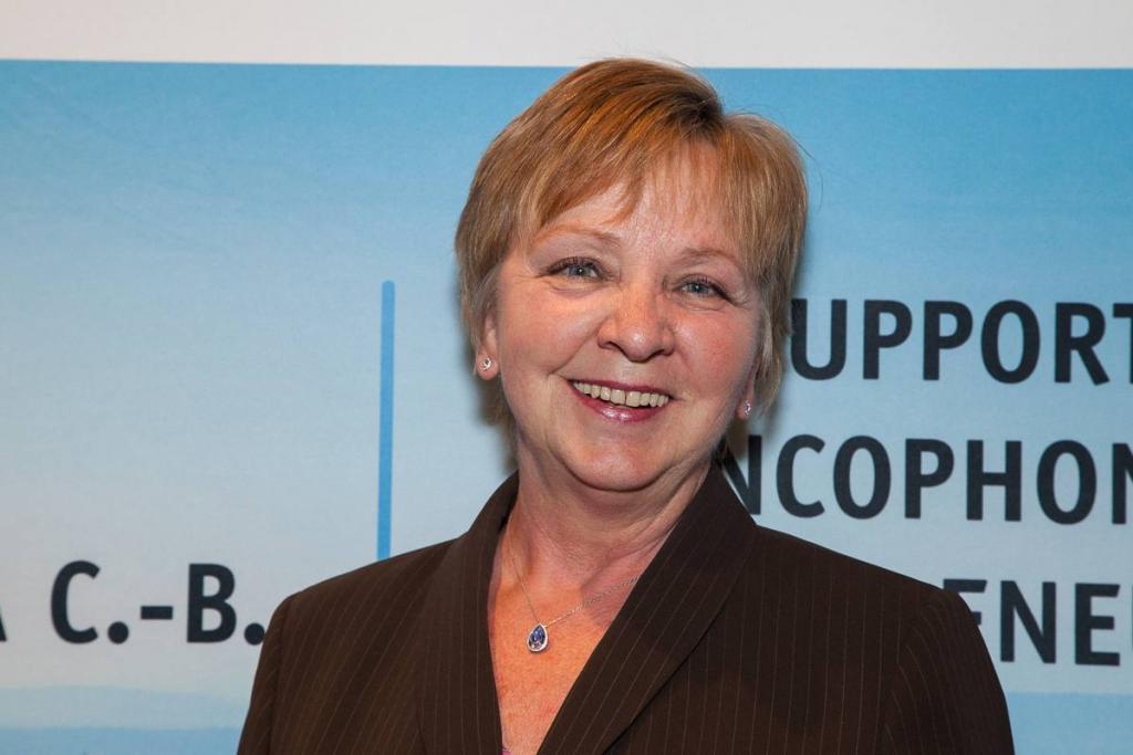 Suzanne Jacob, nouvelle présidente du CA de la SDECB