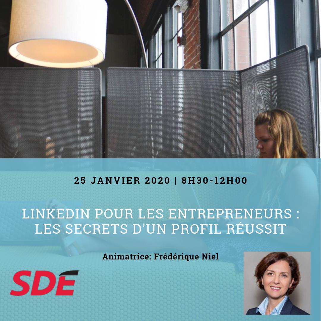 Linkedin pour les entrepreneurs : Les secrets d'un profil réussit