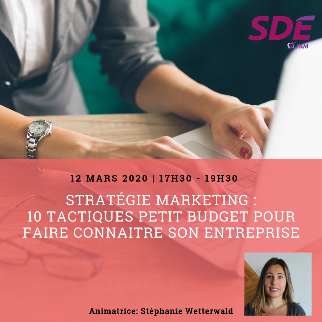 atelier stratégie marketing