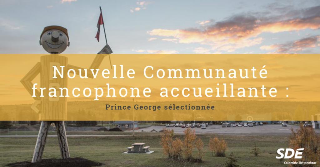 Prince George communauté francophone accueillante