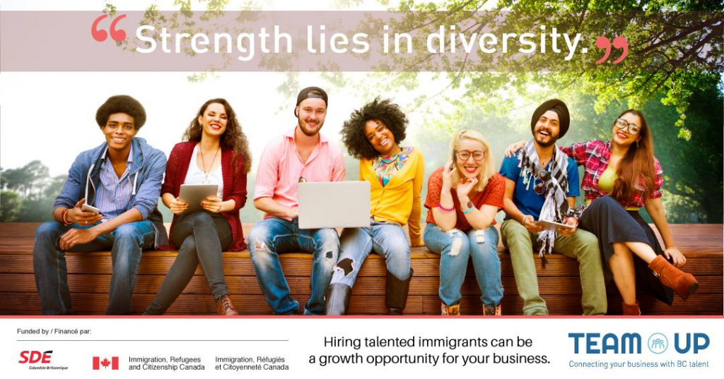 Strength lies in diversity